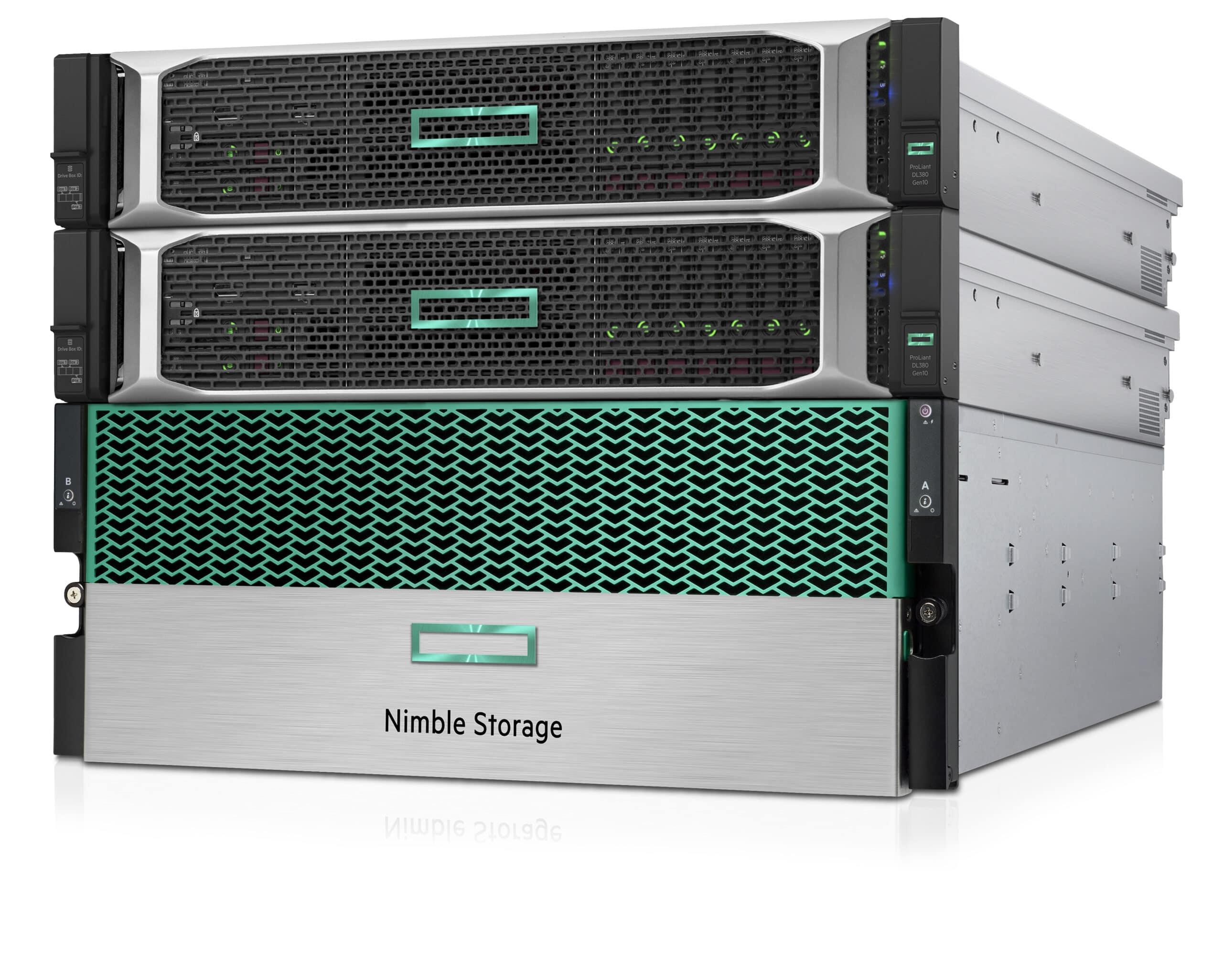 Nimble Storage's shared storage appliance